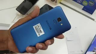 Samsung Galaxy J6 Unboxing and Review In Bangla। Nevy Blue colour