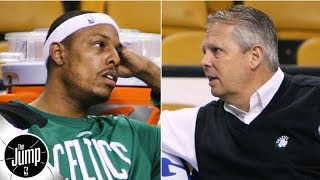 Danny Ainge told Paul Pierce to his face that he could get traded from the Celtics   The Jump