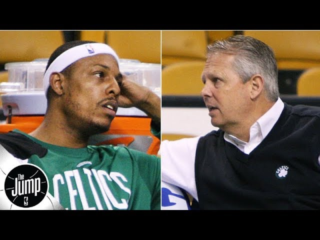 Danny Ainge told Paul Pierce to his face that he could get traded from the Celtics | The Jump