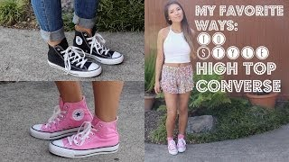 My Favorite Ways to Style High Top Converse