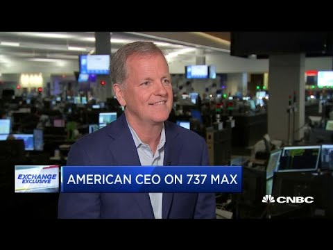 American Airline CEO: We remain in limbo on the 737 Max