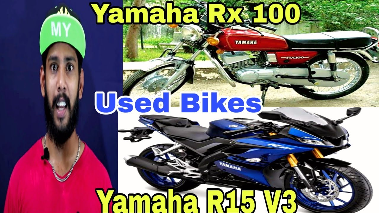 Yamaha RX 100 & R15 V3 For Sale | Used Bike | Old Bike | Brand New Bike | Direct Owner | Salam Popz