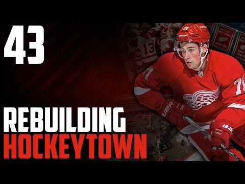 "NHL 17 - Detroit Red Wings Franchise Mode #43 ""Ottawa"""