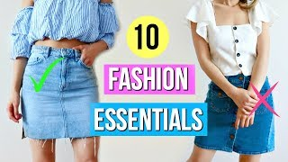 10 Fashion Essentials Every Woman Should Own!