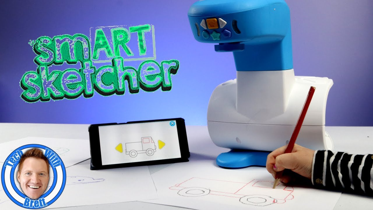 Learn to Draw With the smART sketcher
