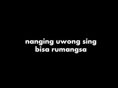 Ojo Ngece Karo Wong Ora Duwe Lirik