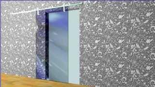 Раздвижные стеклянные двери - фурнитура MetalGlas(Фурнитура Metalglas для раздвижных дверей - 3d модели., 2014-05-30T14:56:27.000Z)