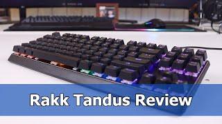 Best Budget TKL Mechanical Keyboard? - Rakk Tandus Review