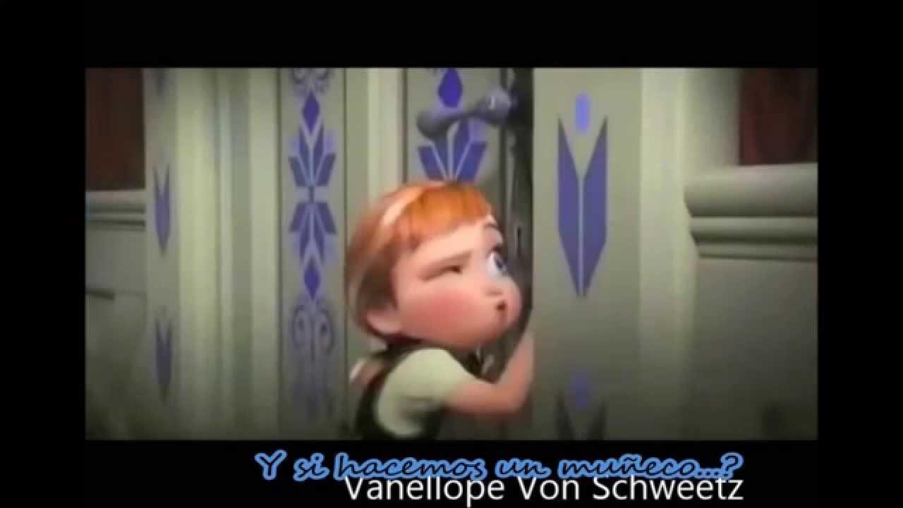 Parodia de la película 'Frozen' con Letra.