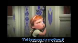 """Parodia de la película """"Frozen"""" con Letra."""