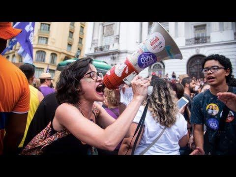 Brazil's Women Rise Against Possible Far-Right Presidency