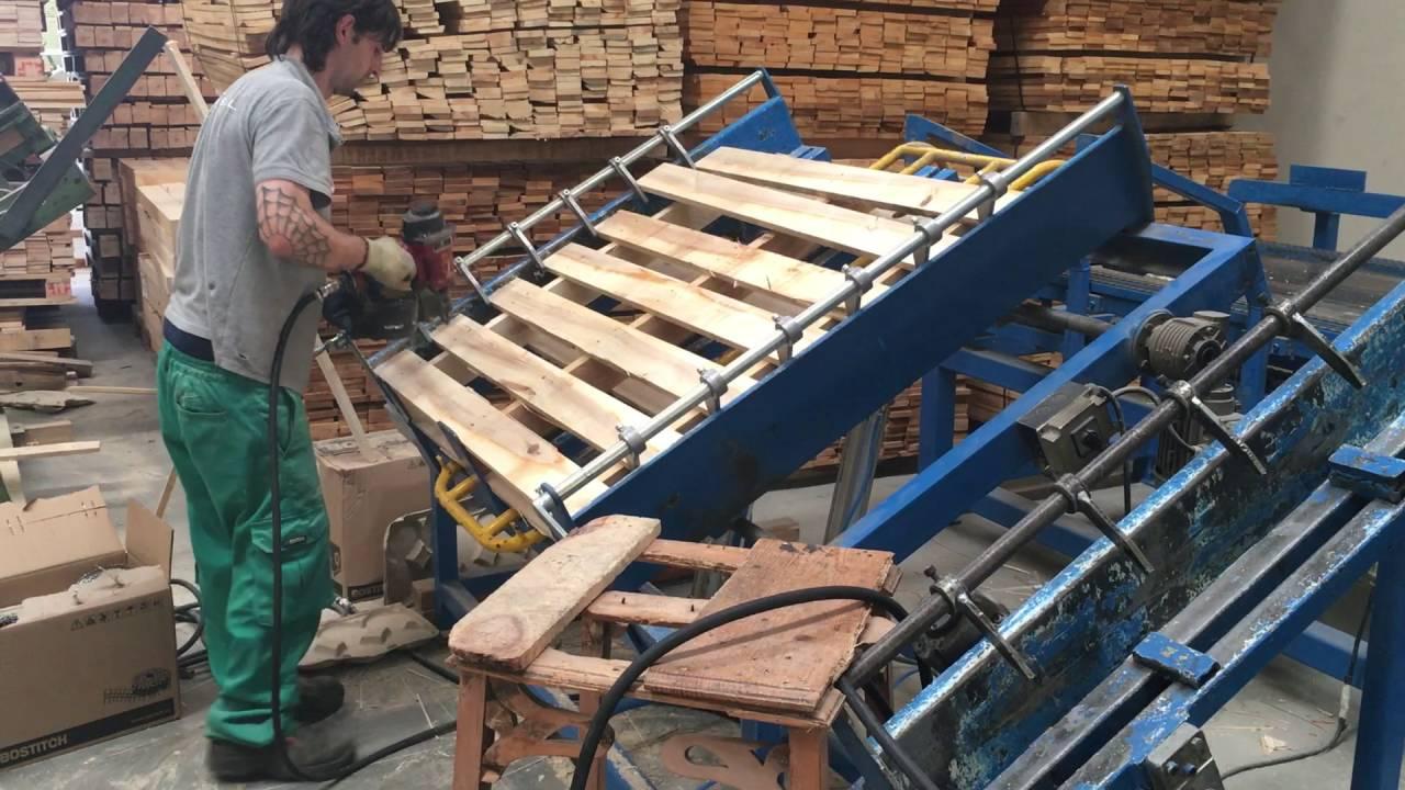 Fabricantes de palets en espa a maderas montevideo youtube - Maderas de palets ...