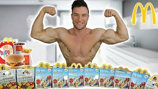 10 HAPPY MEAL CHALLENGE | Extremes Cheat Meal | 7000 Kalorien