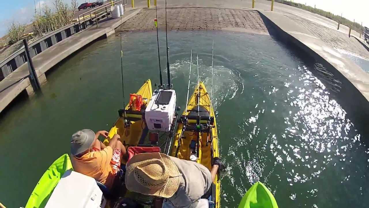 BTB Offshore Motor Kayak Catamaran Oil Rig Fishing Trip 9 2012