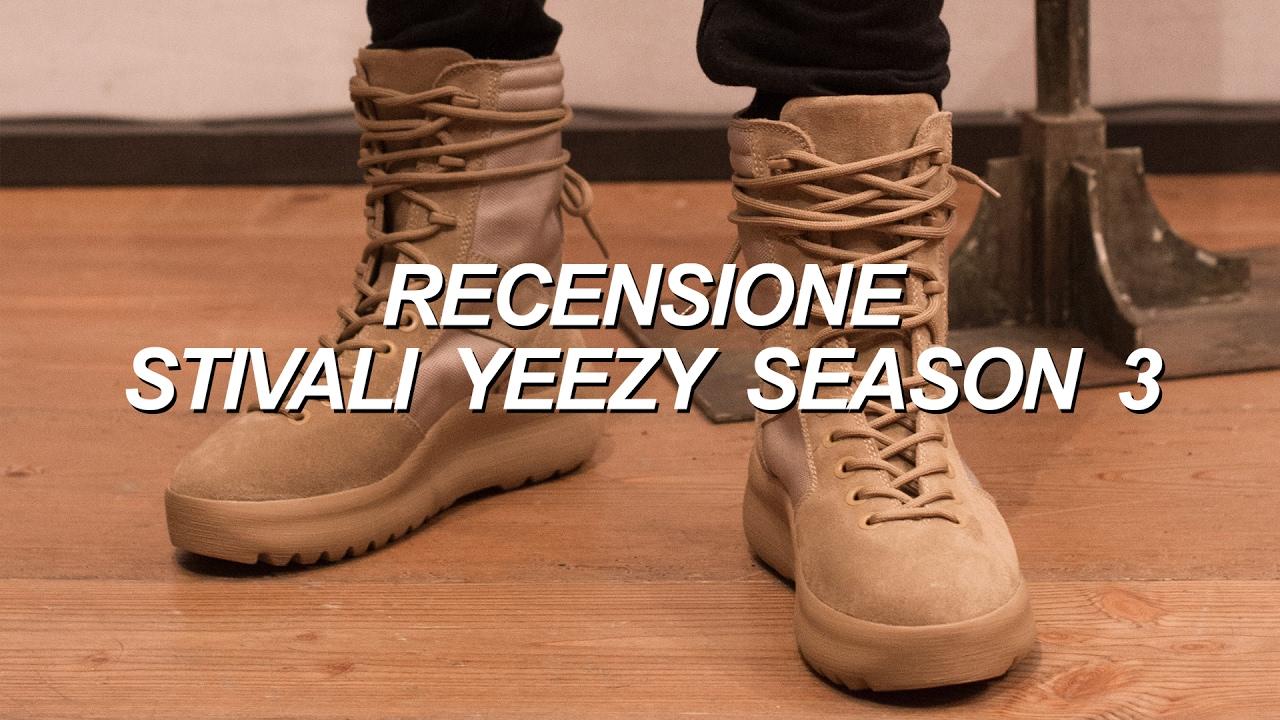 Recensione Stivali YEEZY Season 3 ( con unboxing e consigli su come calzano) 0904a7e43bd