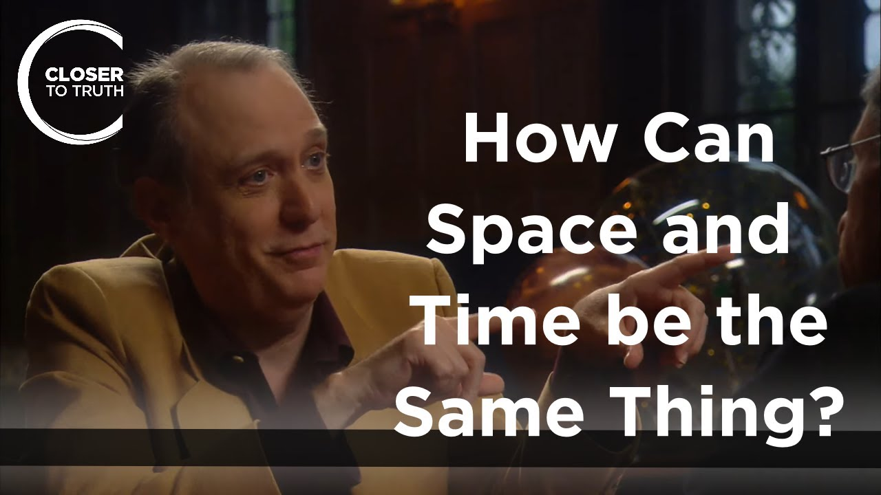 J. Richard Gott - How Can Space and Time be the Same Thing?