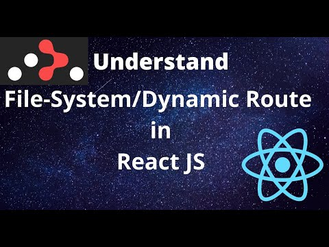 Understand File-System/Dynamic Route in React | React Router DOM File-System/Dynamic Route