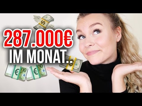 Ich verdiene 287.000 € im MONAT - und das NUR mit Instagram ...  | Dagi Bee