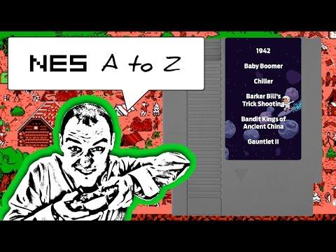 NES AtoZ 75: Baby Boomer, Barker Bill's, Chiller, 1942, Bandit Kings & Gauntlet II