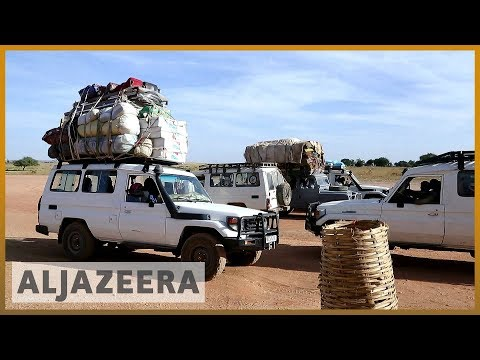 🇸🇩🇹🇩Illegal trade and smuggling continues at Sudan-Chad bord