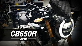 2019 New Honda CB 650 R - Muscular edition