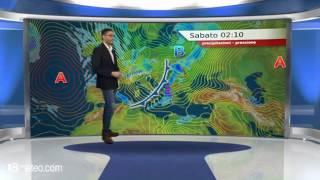 Meteo Italia: maltempo con pioggia neve e calo delle temperature