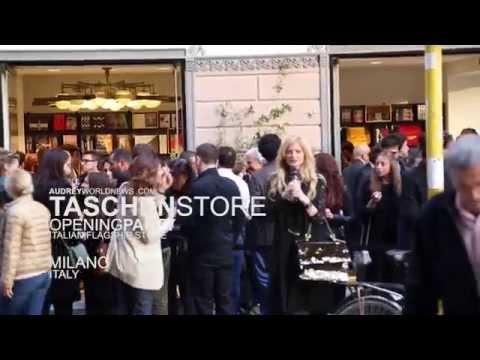 Taschen Book Milano Opening