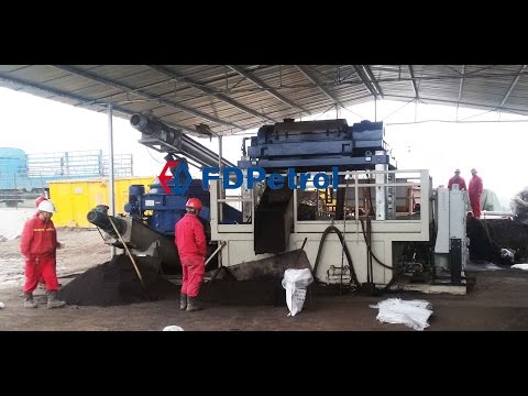 OBM Cuttings Treatment System  for 202h6 rig shale gas drilling