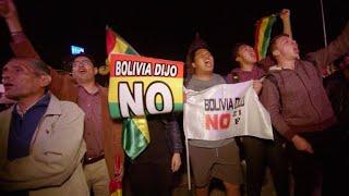 Marchas en Bolivia contra la candidatura de Evo Morales