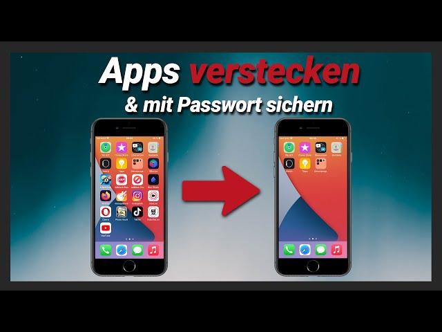 iPhone Apps verstecken + sperren + ausblenden & mit Passwort schützen