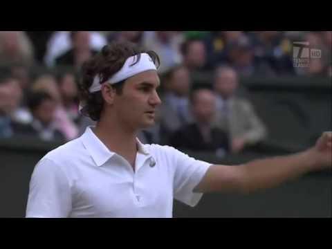 Federer vs Nadal Wimbledon 2008 - Last game