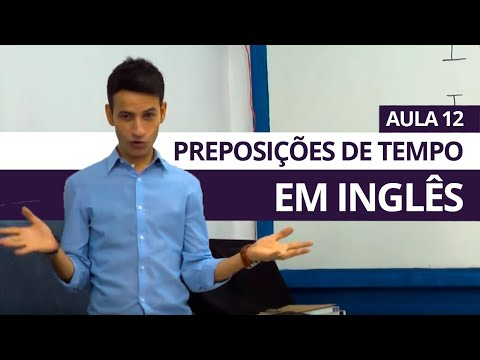 PREPOSIÇÕES DE TEMPO IN, ON, AT - AULA 12 PARA INICIANTES - PROFESSOR KENNY