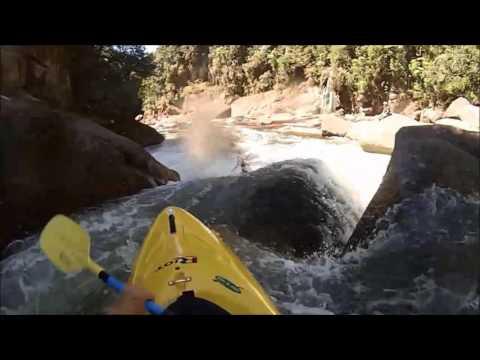 Creeking Wairoa first time!!!