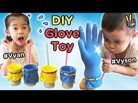 The Finger Family   Kids Have Fun Playing DIY Toys by Glove