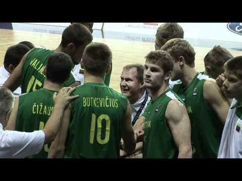 FIBAU19 - Serbia v Lithuania post game interview