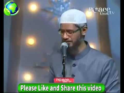Dr Zakir Naik Urdu Speech Concept Of God In Parsi Religion Islamic Bayan In Hindi 2017