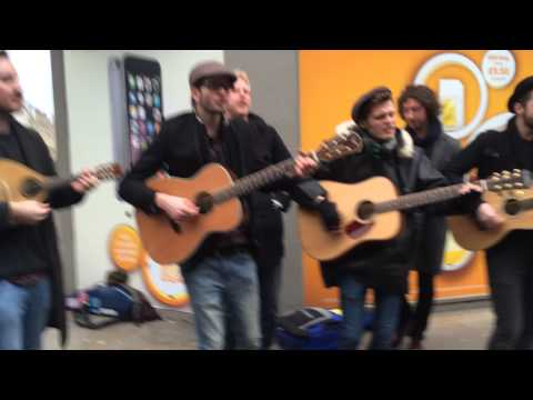 Hudson Taylor - World Without You at the Oxford busk