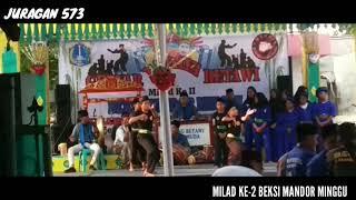 GEBYAR BUDAYA BETAWI DAN MILAD KE-2 BEKSI MANDOR MINGGU
