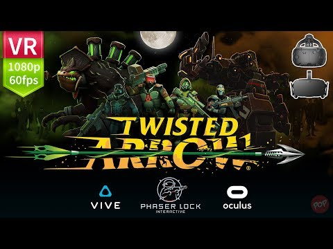Twisted Arrow VR FPS adrenaline packed arcade style action. Full HD 1080p 60fps