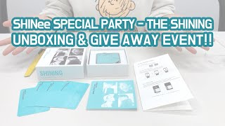 [GIVEAWAY] 샤이니 SHINee SPECIAL PARTY [THE SHINING] KiT Video …