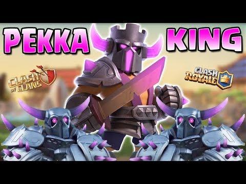 New Clash PEKKA King Origin Story! | Clash Of Clans/Clash Royale Pekka King Story 2019