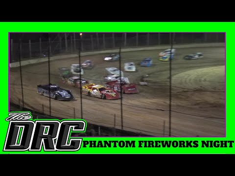Moler Raceway Park | 7/6/18 | Phantom Fireworks Night | Late Model Feature