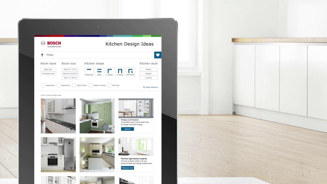 Bosch Kitchen Design Ideas - Servizi, consigli e ...