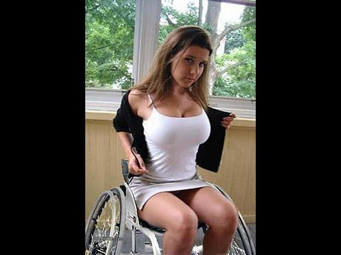 Girls wheelchairs in Hot naked