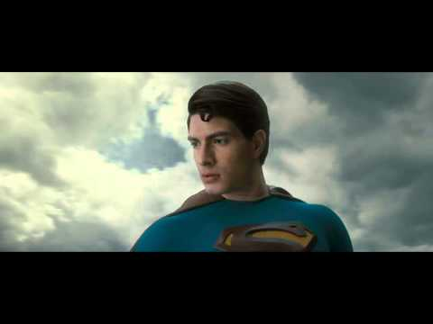 Superman Returns - breaking the sound barrier [HD].avi