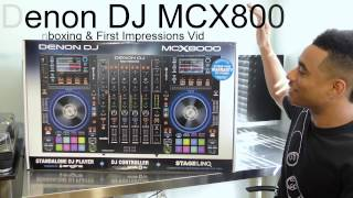 dENON DJ MCX8000 / UNBOXING / REVIEW