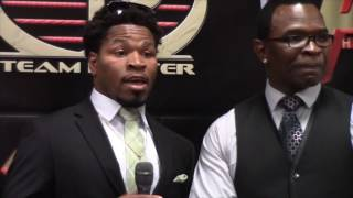 SHAWN PORTER - 'THERE WAS ONE POINT IN THE FIGHT I LANDED A HEAVY BODY SHOT ON THURMAN'