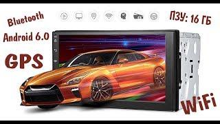 💯 2 DIN АвтоМагнитола на Android из Китая Полный Обзор и Тест  Мини Камера KELIMA SQ10