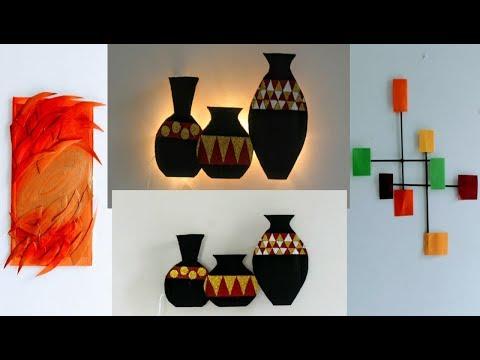 Craft ideas | room decor | art and craft ideas | waste material craft ideas/diy craft/amazing pixies