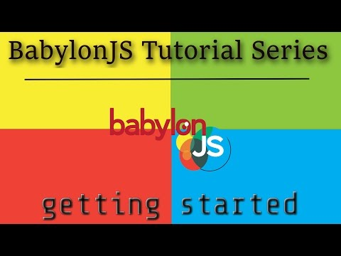 BabylonJS Tutorial Series -- Part 1: Getting Started
